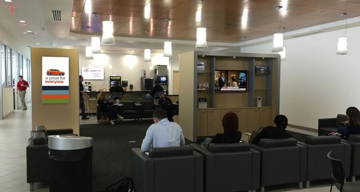 Toyota Dealership Waiting Room Tv Learn More At Http