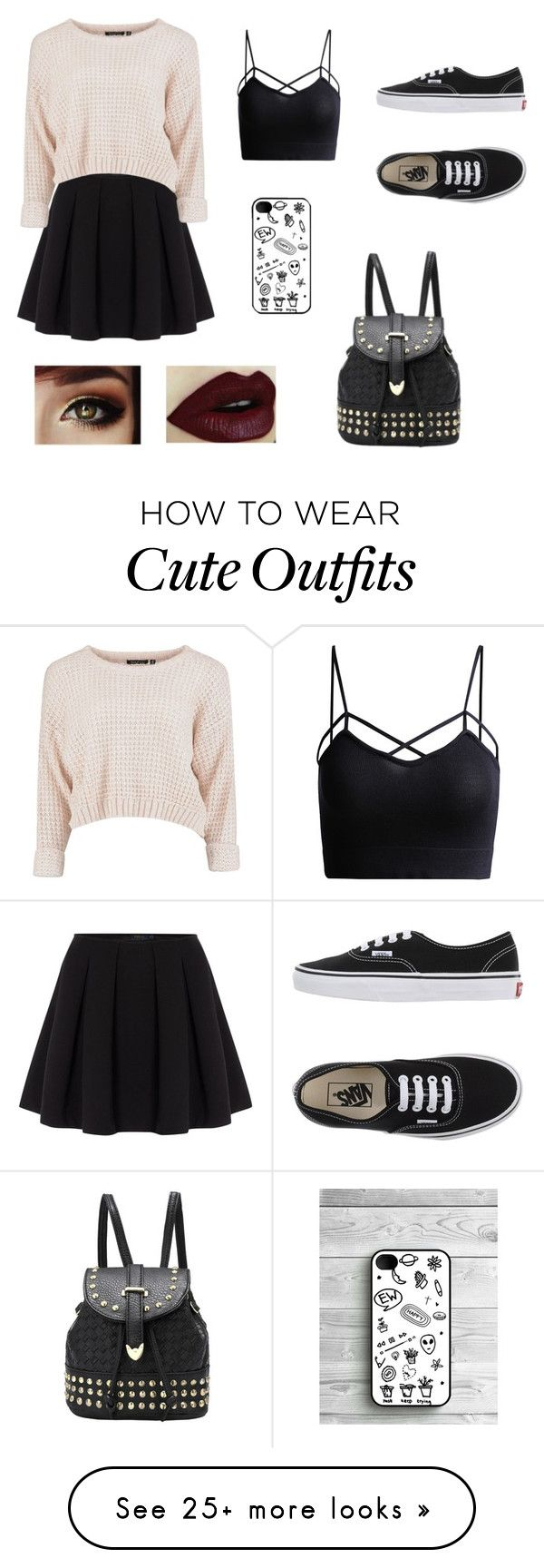 """Cute fall Outfit"" by sarasoldano on Polyvore featuring Polo Ralph Lauren and Vans"