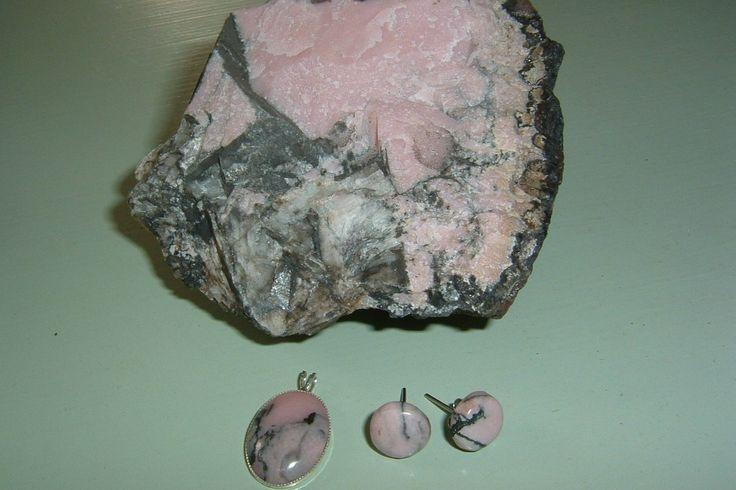 Rodokrosit från Bölets gruvor söder om Askersund