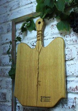 Poze Platou de servire din lemn de stejar STR 1622