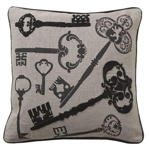 Baroque Password Pillow - $79.00