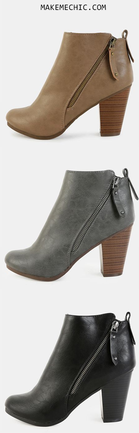 Almond Toe Ankle Booties.  Black Friday Sale,Up To 90% OFF.  Free Shipping Over $39, 20% OFF Your First Order