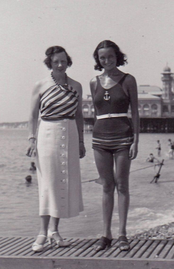 150 besten 1930s Beachwear Bilder auf Pinterest
