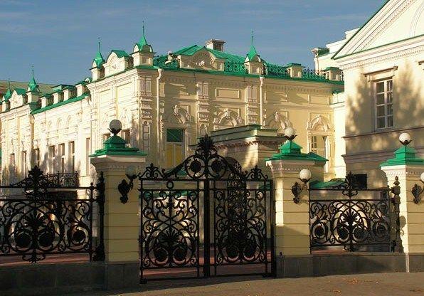 Усадьба Тарасова г.Екатеринбург — УСАДЬБЫ ДВОРЦЫ ОСОБНЯКИ