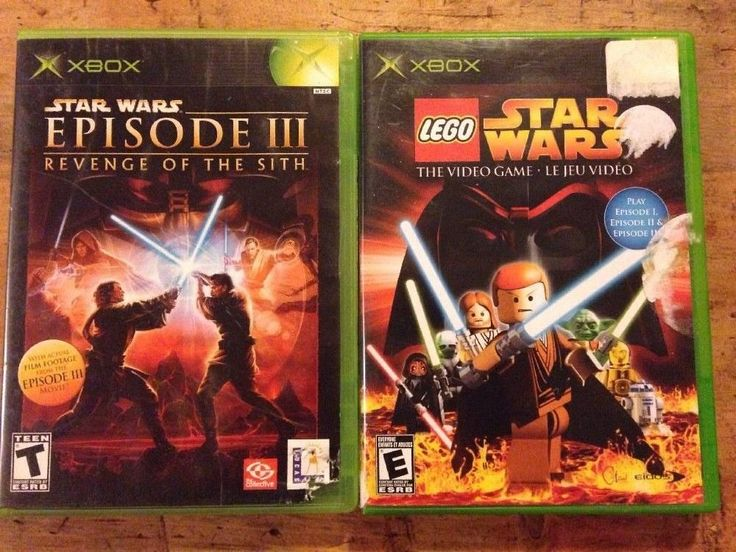 Xbox Games Star Wars Episode 3 Revenge of The Sith LEGO STAR WARS The Video Game