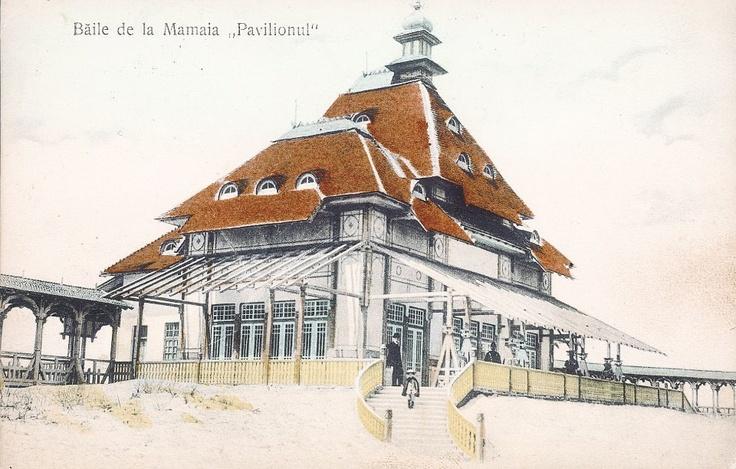 Baile de la Mamaia - Pavilionul - antebelica
