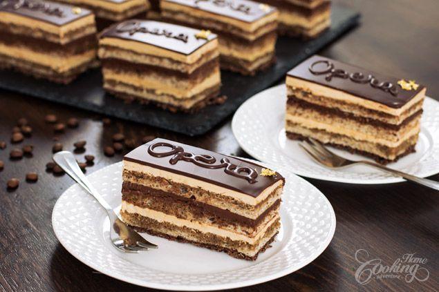 Opera Cake :: Home Cooking Adventure