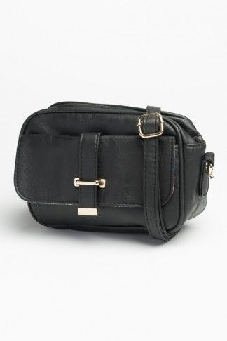 Black essential cross body (price previously stated)