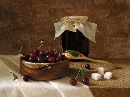 Делаем варенье из вишни. Рецепт вишневого варенья. / Простые рецепты
