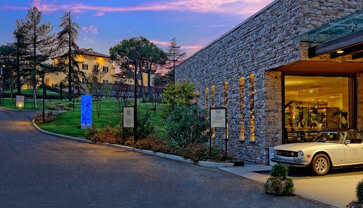 the #VillaBentivoglio #view from our #Reception