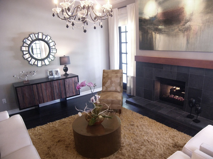 Best Basement Fireplace Images On Pinterest Basement - Basement fireplace design ideas