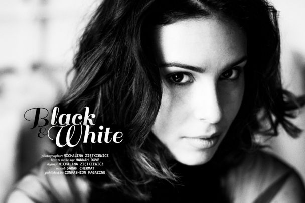 "Michalina Ziętkiewicz: ""Black & White"" http://www.confashionmag.pl/webitorial/black-and-white.html"