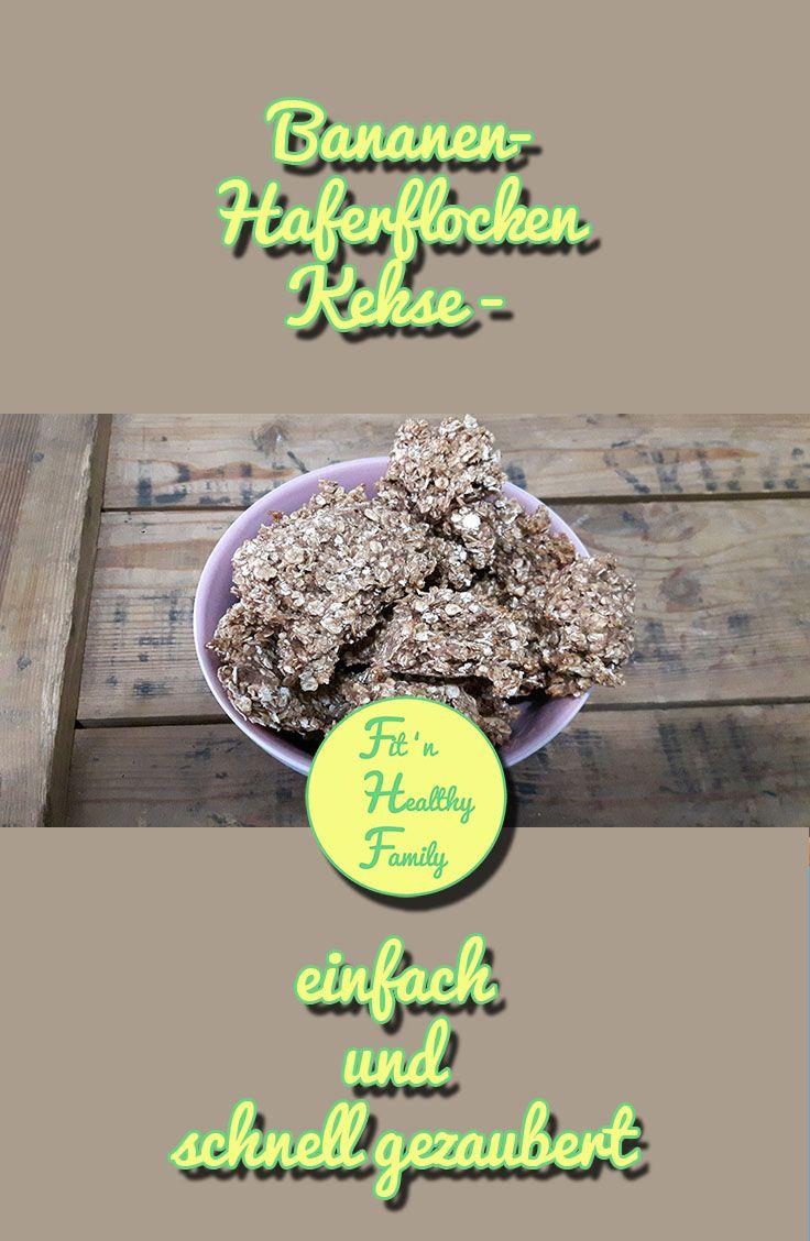Du bist noch auf der Suche nach superleckeren gesunden Keksen, die schnell und einfach  zu zaubern sind? Dann ist dieses Rezept perfekt für Dich!