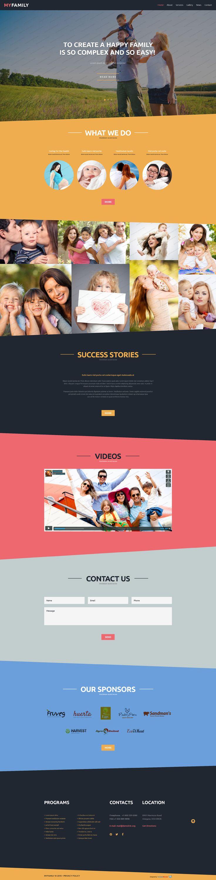144 best FREE Website Templates images on Pinterest