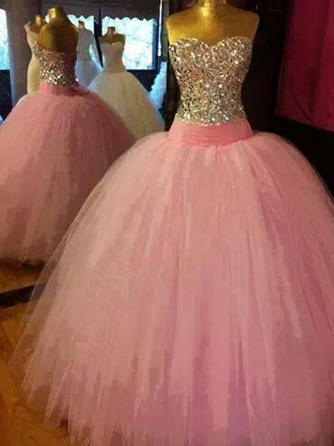 Vestidos com Brilho – Vestidos de 15 Anos