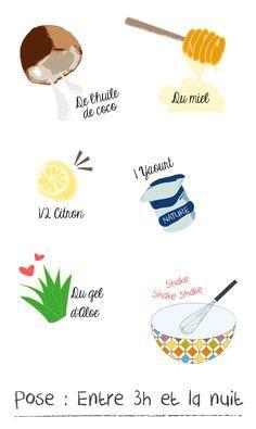 DIY : Le masque cheveux Ultime à l'huile de coco #beauté #naturel