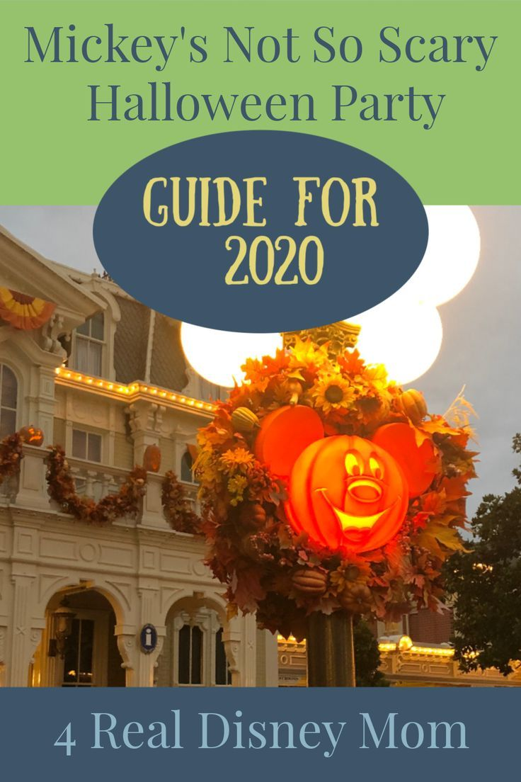 Moms Guide To Mickeys Not So Scary Halloween Party 2020 Pin on Disney