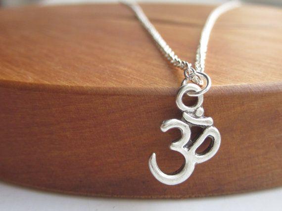 Ohm necklace silver necklace necklace UK silver by LondonGem