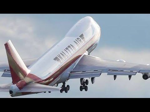 VIDEO: Kalitta - Super FAST Boeing 747 Take-off - YouTube