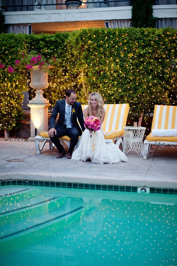 Another gorgeous wedding at the viceroy palm springs want to get married by water
