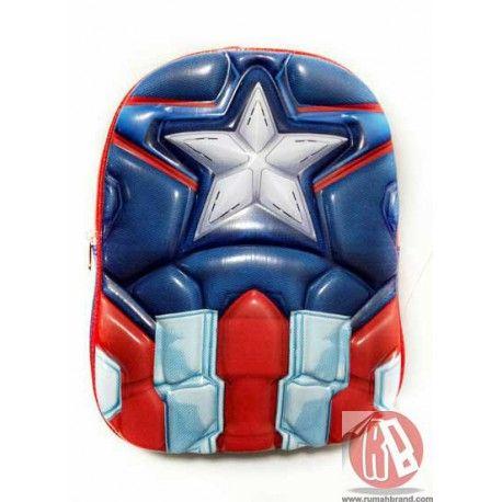 Ransel Captain America (KC-11) @Rp. 165.000,-   http://rumahbrand.com/kostum-anak/1422-ransel-captain-america.html