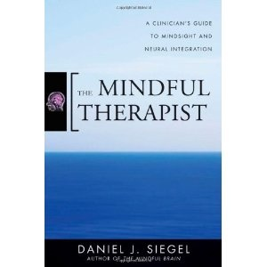 """The Mindful Therapist by Daniel J. Siegel. Based on the findings from interpersonal neurobiology, Dr. Siegel offers some interesting ideas about the way that therapeutic conversations may help rewire the brain. Listen to the mp3 file called """"Wheel of Awareness"""": http://drdansiegel.com/resources/wheel_of_awareness/ #illnessbeliefs, #familynursing"""