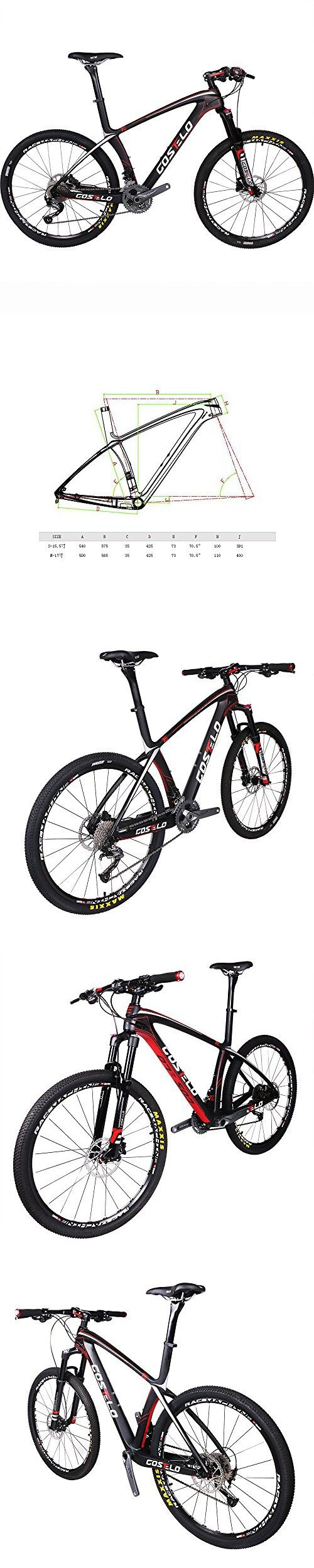 Costelo Ultimate 9.9 Bicycle MTB Frame carbon Bicylce Mountain Bike 27.5 650B MTB Frame Original Groups Wheels Saddle Bar Tire (SHIMANO M610)