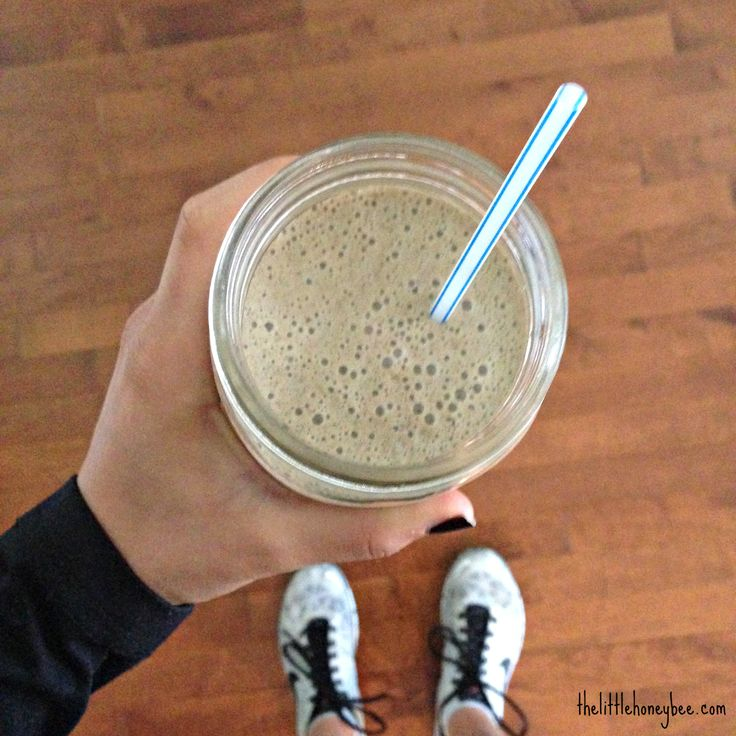 My Post-Workout Smoothie - super easy, tasty and nutritious   http://thelittlehoneybee.com/2014/05/28/my-plant-protein-blend-post-workout-smoothie-recipes/