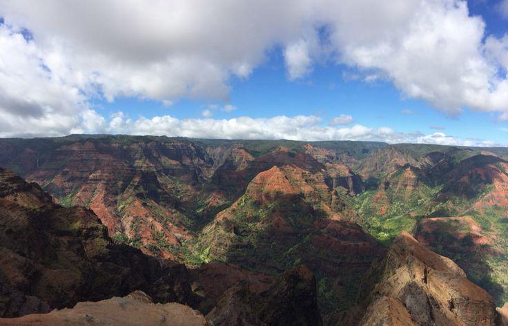 Hawaiian Grand Canyon. Waimea.