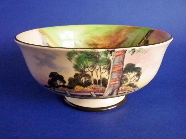 Royal Doulton Australian 'Gum Trees' Series 'A' Winchester Bowl D5506 c1935