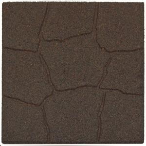 Envirotile Earth Rubber Flagstone Homedepot Check Out