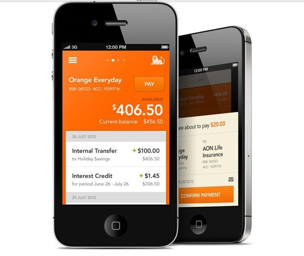ING DIRECT Mobile Banking App