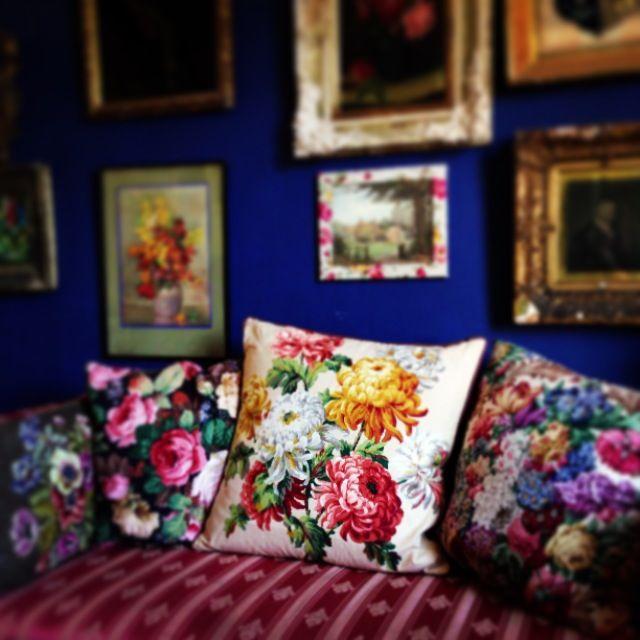Cushions and colour