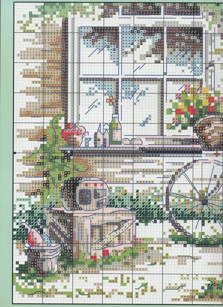 cross stitch pattern part 1 of 2