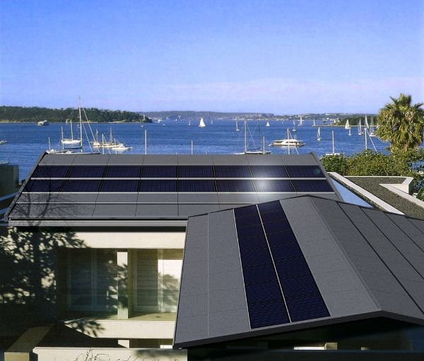 Tractile BIPV-T roofing system by Tractile | Architecture And Design