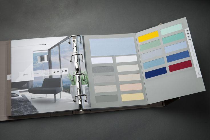 Cartelle Colori - Centro Campionari #cartelle #colori #campionario #campionari #cartellecolori #colors #leather #arredo #colorcard #palette #handmade #fabrics