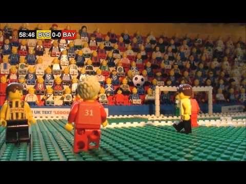 Champions League 2013 Final Lego - Bayern Munich & Borussia Dortmund Full Highlights - YouTube