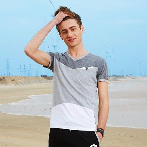 Verano Hombre de manga corta T-shirt 2017 - $256.34