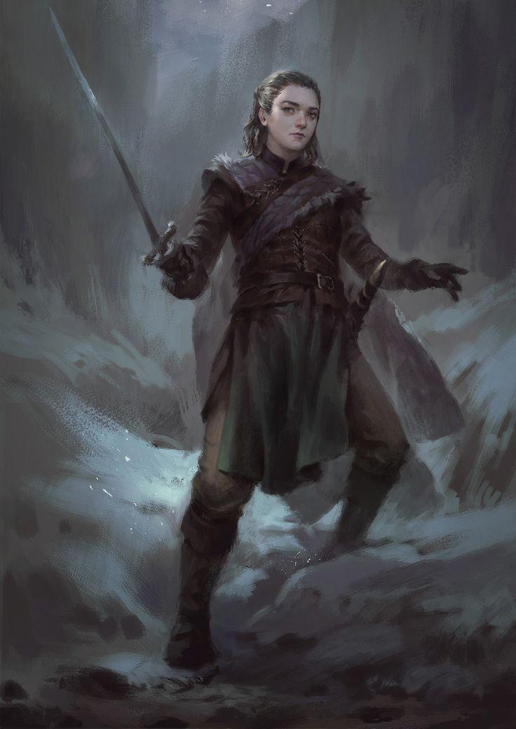No One - Game of Thrones fan art by Wisnu Tan