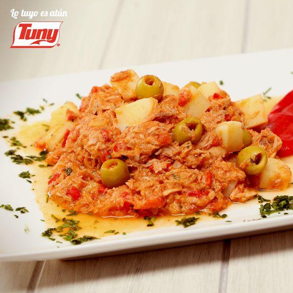 Receta de atún: prepara una deliciosa receta de atún con sencillos pasos para complacer a tu familia Atún Tuny a la Vizcaína