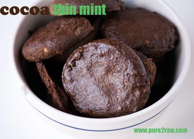 Protein Thin Mint CookiesDesserts Recipe, Thin Mint Cookies, Gluten Free Desserts, Shape Magazine, Healthy Eating, Thin Mints, Protein Thin, Gluten Fri Desserts, Sugar Free