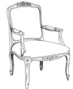 HF 110   Chair   Hallman Furniture