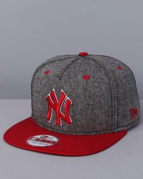 Tweed New York Yankee's snapback hat by New Era! #yankees #newyork #hat