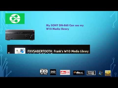 DLNA - Windows 10 DLNA Media Streamer | Windows 10. 4k tv. Streaming