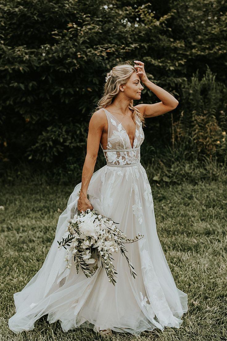 9 Romantische Brautkleider für die modebewusste Braut - New Ideas