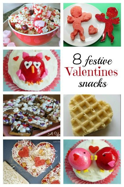 8 Festive Valentines Day Snacks - Housing a Forest