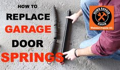 spot and replace bad garage door extension springs, diy, garage doors, home maintenance repairs, how to, How to Replace Garage Door Extension Springs