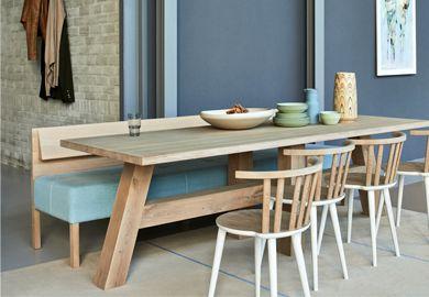 Blond - Eigen Huis & Interieur, tafel, bank en stoelen van Pilat & Pilat