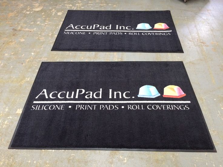 Custom Printed Logo Rugs