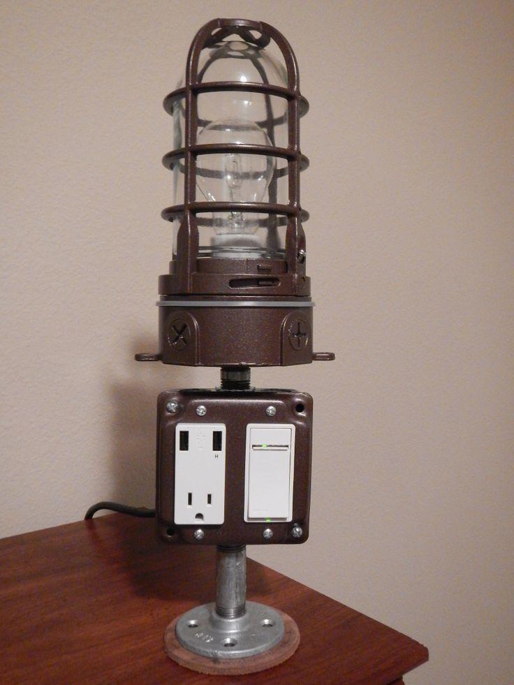USB Charging Lamp